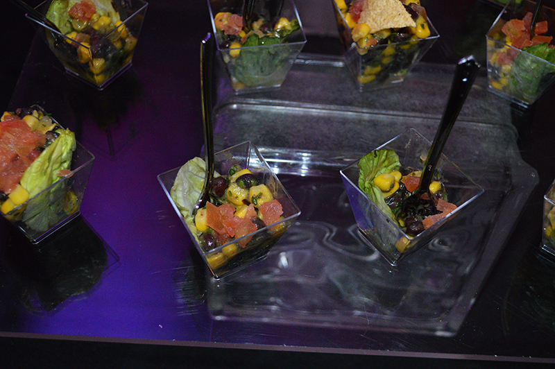 food at the 24 hour cotton runway show