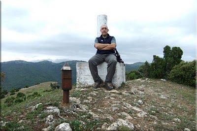 Olvedo mendiaren gailurra 930 m. -- 2012ko urtarrilaren 7an
