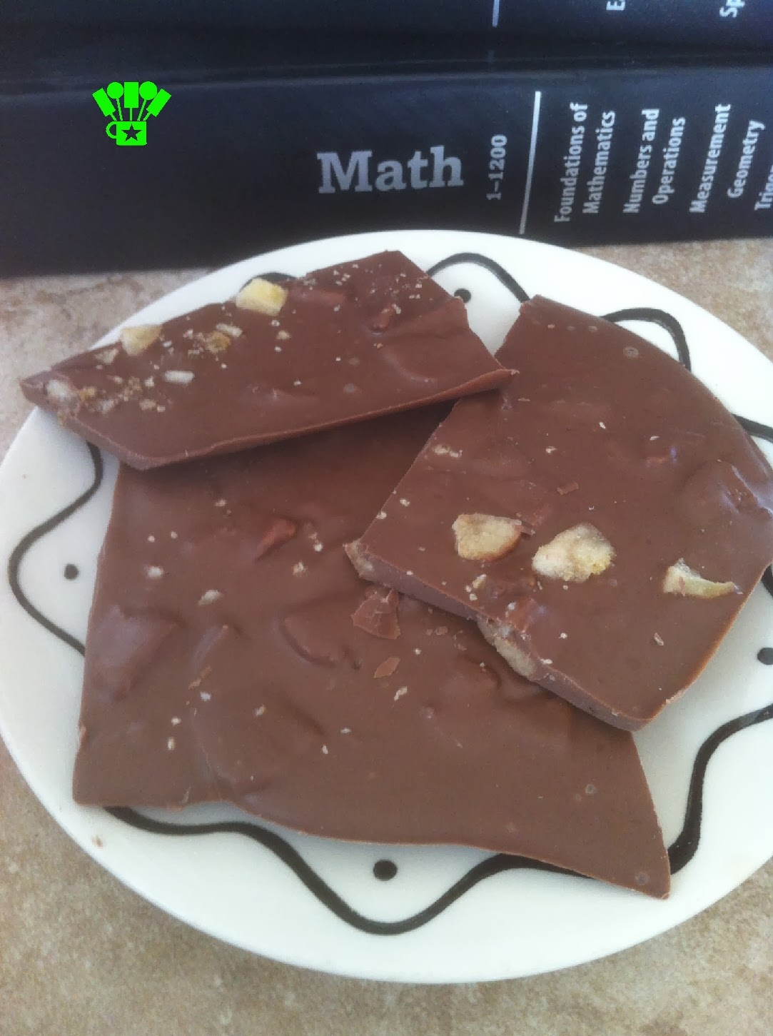 Candy that's Good for your Brain-Banana Bark Chocolate Candy Recipe