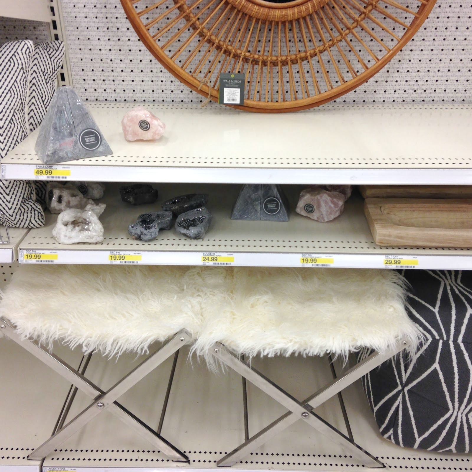 Target mirrored accent