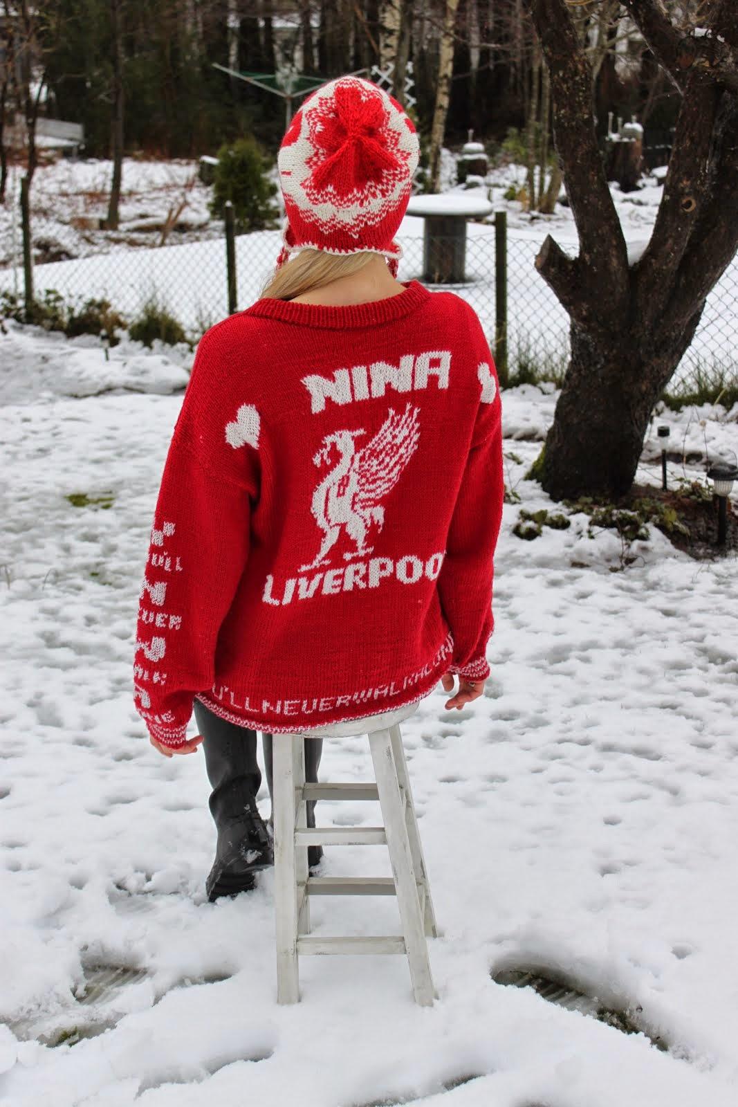 Genser : Liverpool love - bakside