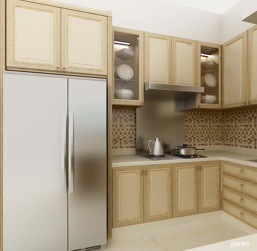 desain rumah ruang pantry
