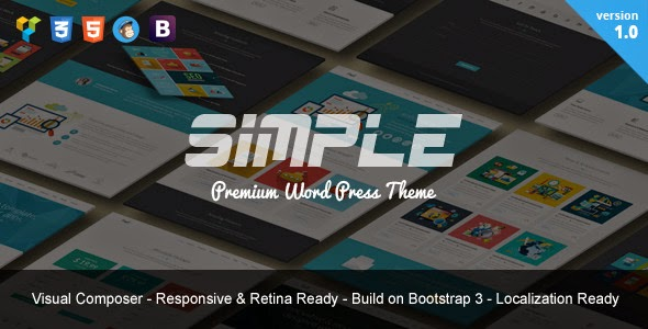 Free Bootstrap WordPress Theme 2015
