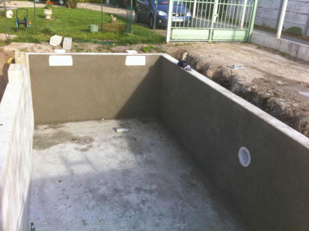 Projet tapes de construction d 39 une piscine en for Construction piscine 19