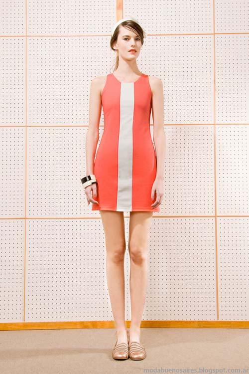 Vestidos 2014 moda verano mujer marca Las Pepas.
