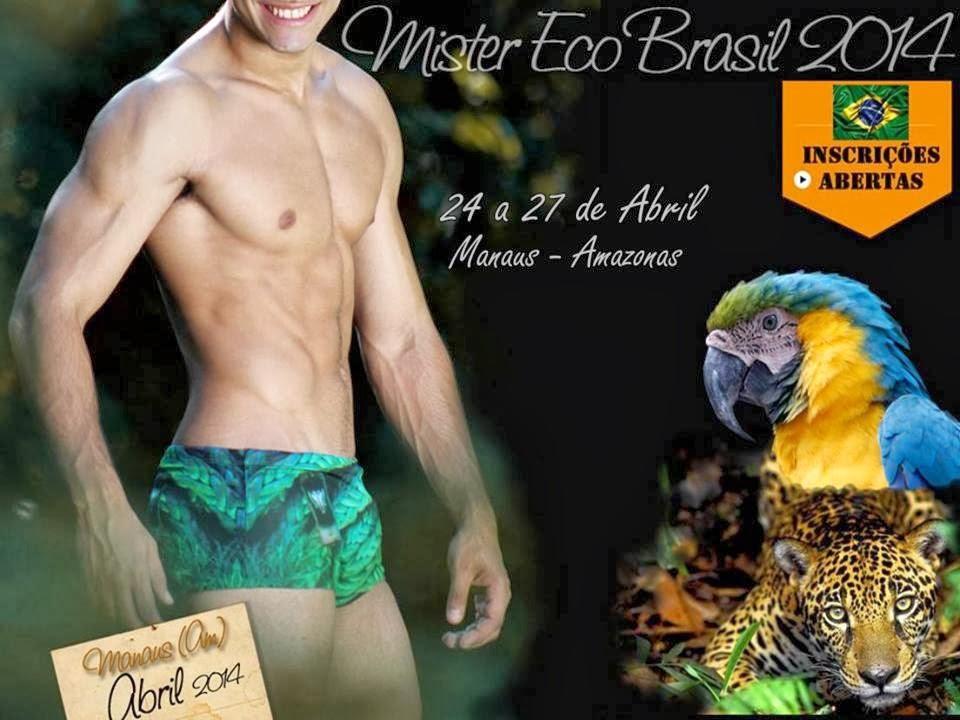 Mister Eco Brasil 2014. Foto: Divulgação