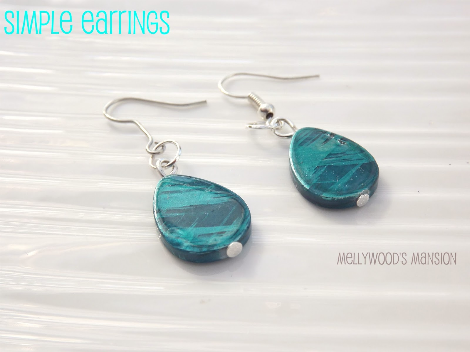 Simple DIY Earrings by Mellywood Mansion - The Benson Street