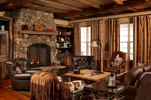 Vignette design design bucket list 5 decorate a cabin for Small cabin living room ideas