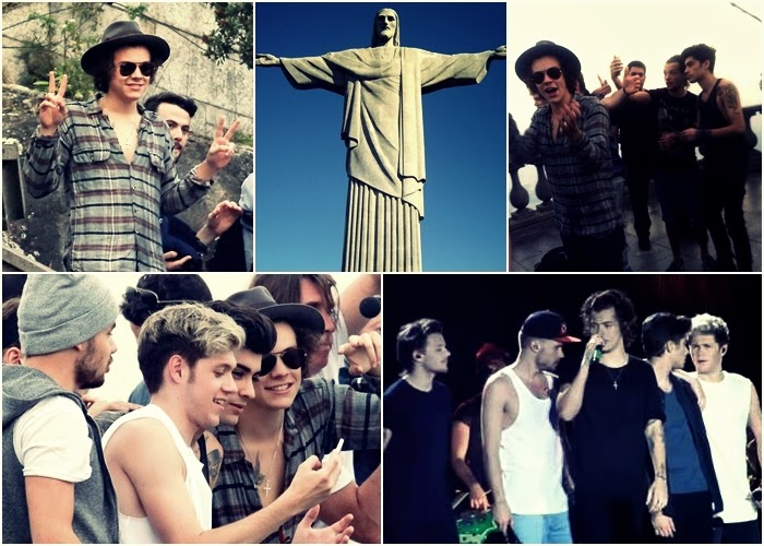 One Direction w Rio