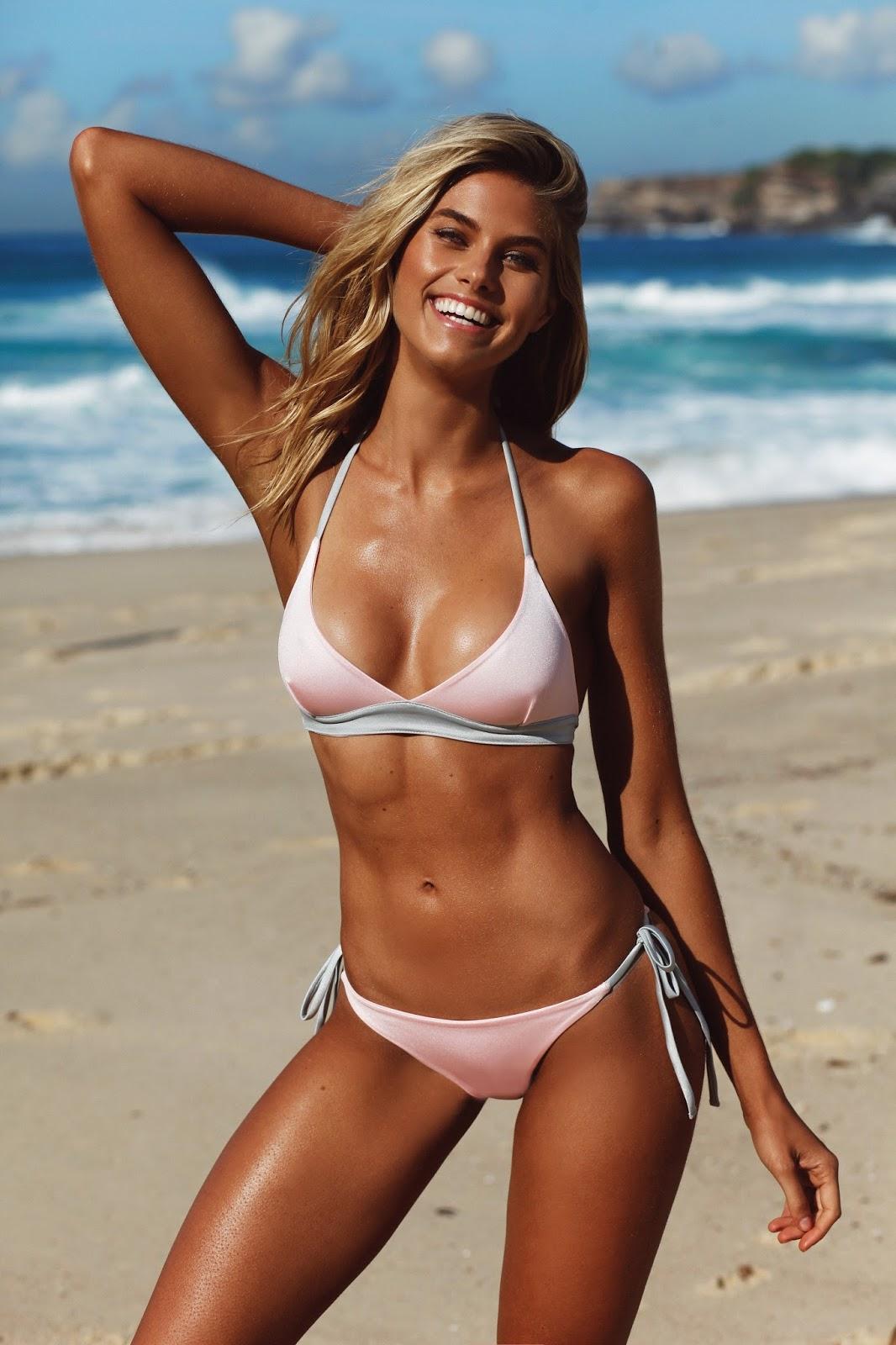 top model summer nude