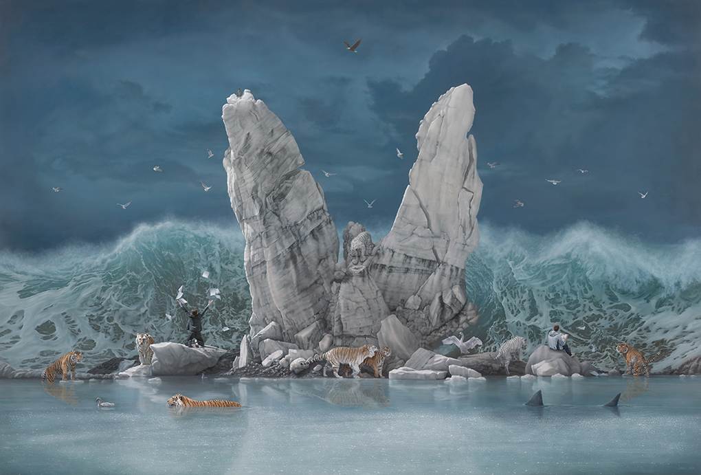08-The-Promised-Land-Joel-Rea-Paintings-of-People-and-Animals-in-Nature-www-designstack-co