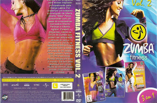 DVD Zumba Fitness – 3 Em 1 – Vol.2