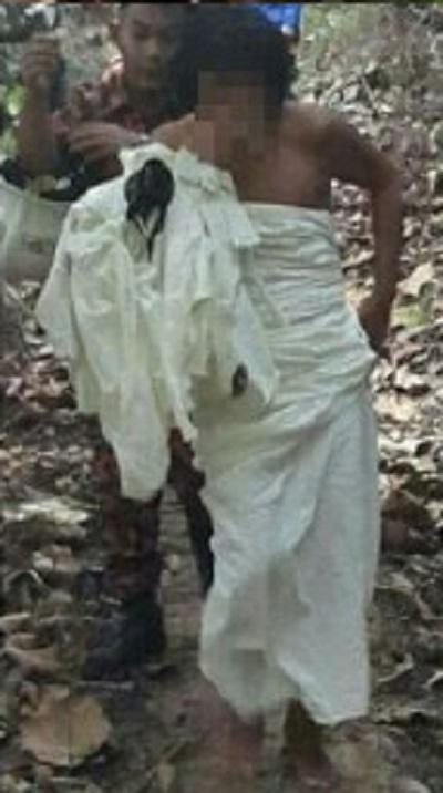 Inilah lelaki yang tidur di laluan jogging dengan berkain putih.. MasyaAllah