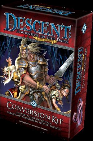 Descent 2nd edition conversion kit giochi sul nostro tavolo - Descent gioco da tavolo ...