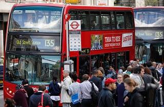 Pekerja kereta api bawah tanah London lancar mogok 48 jam
