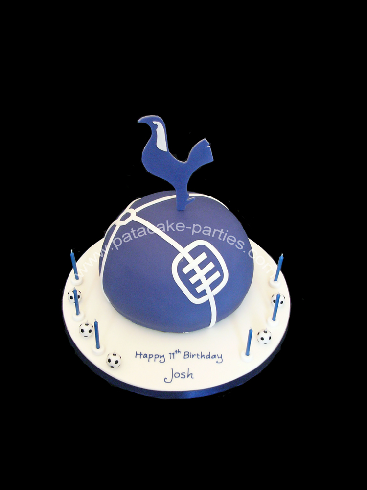 Pat A Cake Parties Tottenham Hotspur 3d Logo Cake