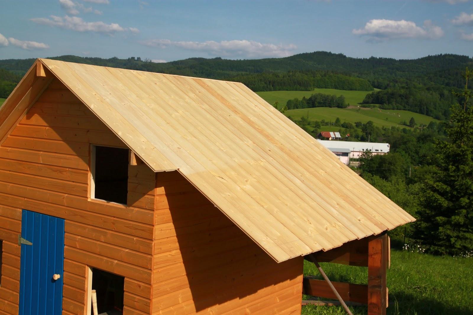 Zarovnání konce střechy