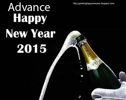 Advance Happy New Year 2015 HD Cards For All Friends