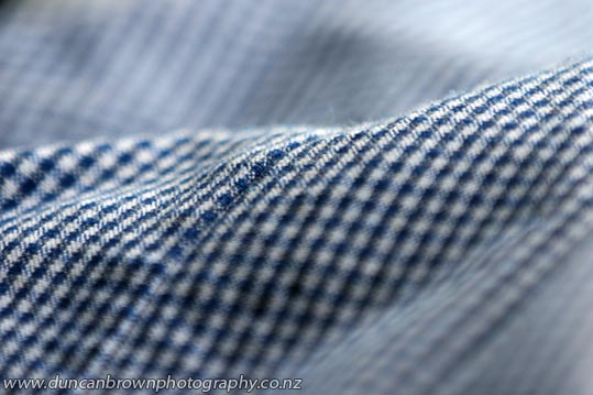 School Daze - school uniform fabric photograph