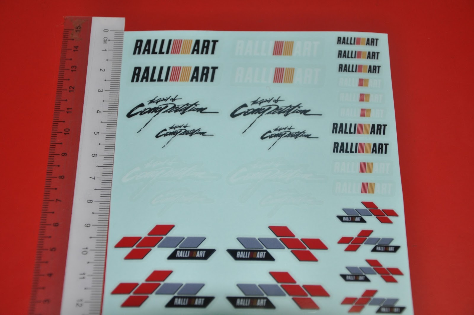 Ralli Art, The Spirit of Competition 4