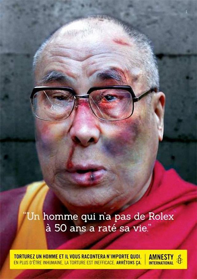 Golpean a El Dalai Lama