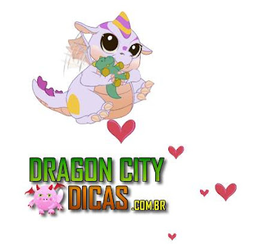Dragão Adorável - Dragon City