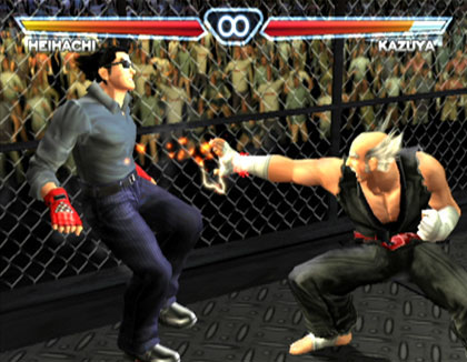 tekken 4 game screenshots ((www.freedownloadfullversiongame.com))
