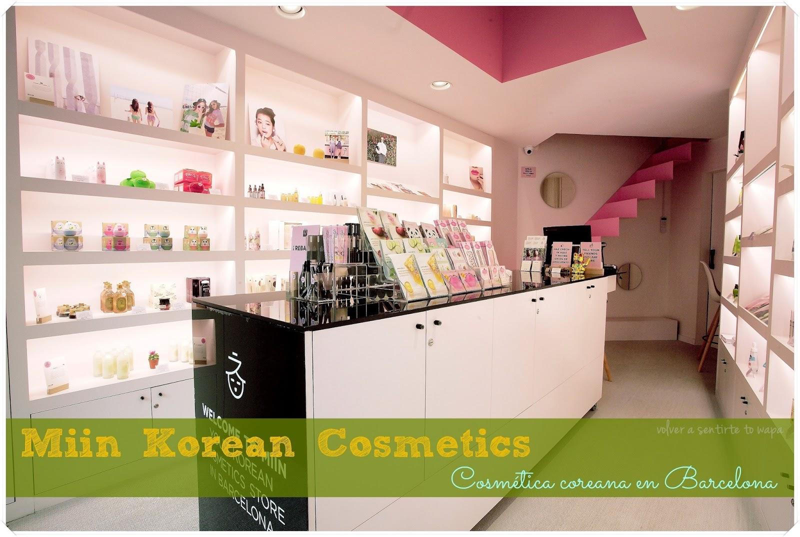 MIIN KOREAN, cosmética coreana en Barcelona