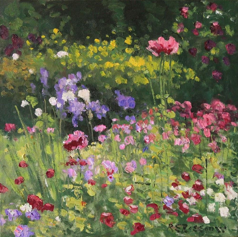 Roelof Rossouw Flowers in the Sun