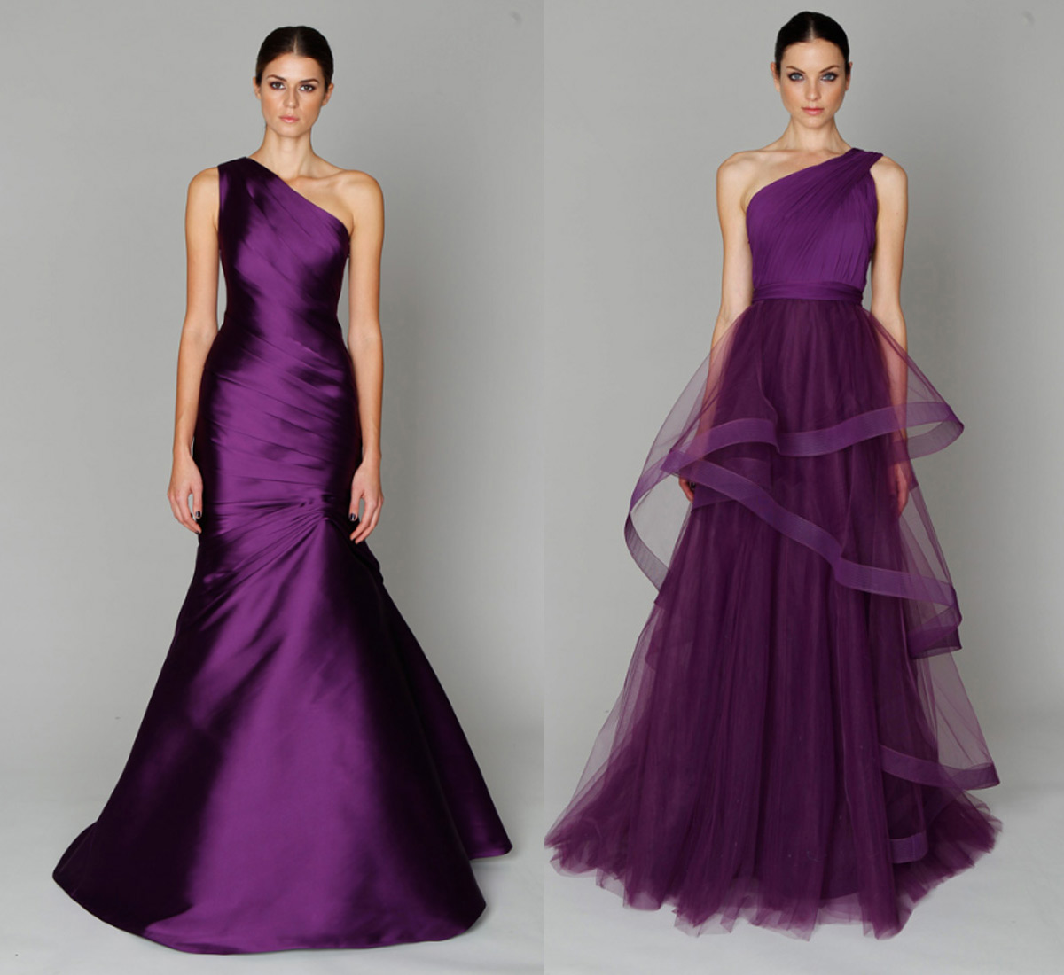Rainingblossoms Evening Dresses Choosing Glamorous Purple