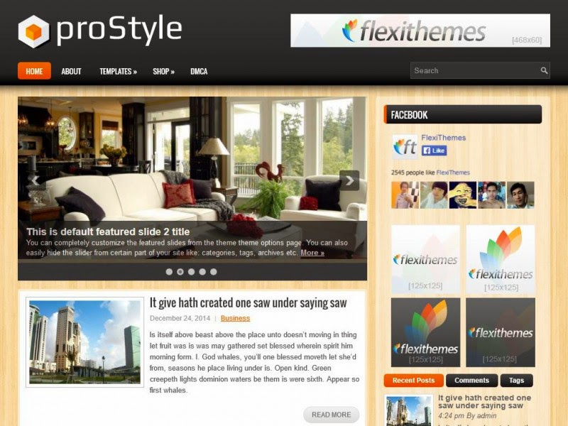 proStyle - Free Wordpress Theme