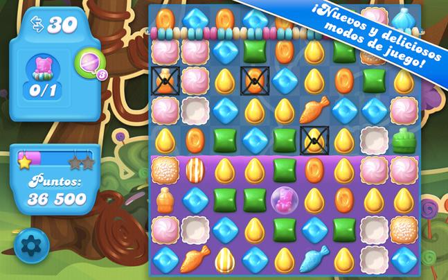 Candy Crush Soda Saga, el nuevo videojuego de King para Android