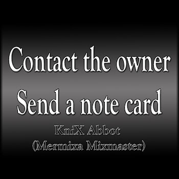 Copntact the owner by sending a notcard