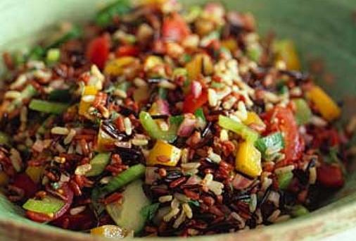 Салат из риса басмати