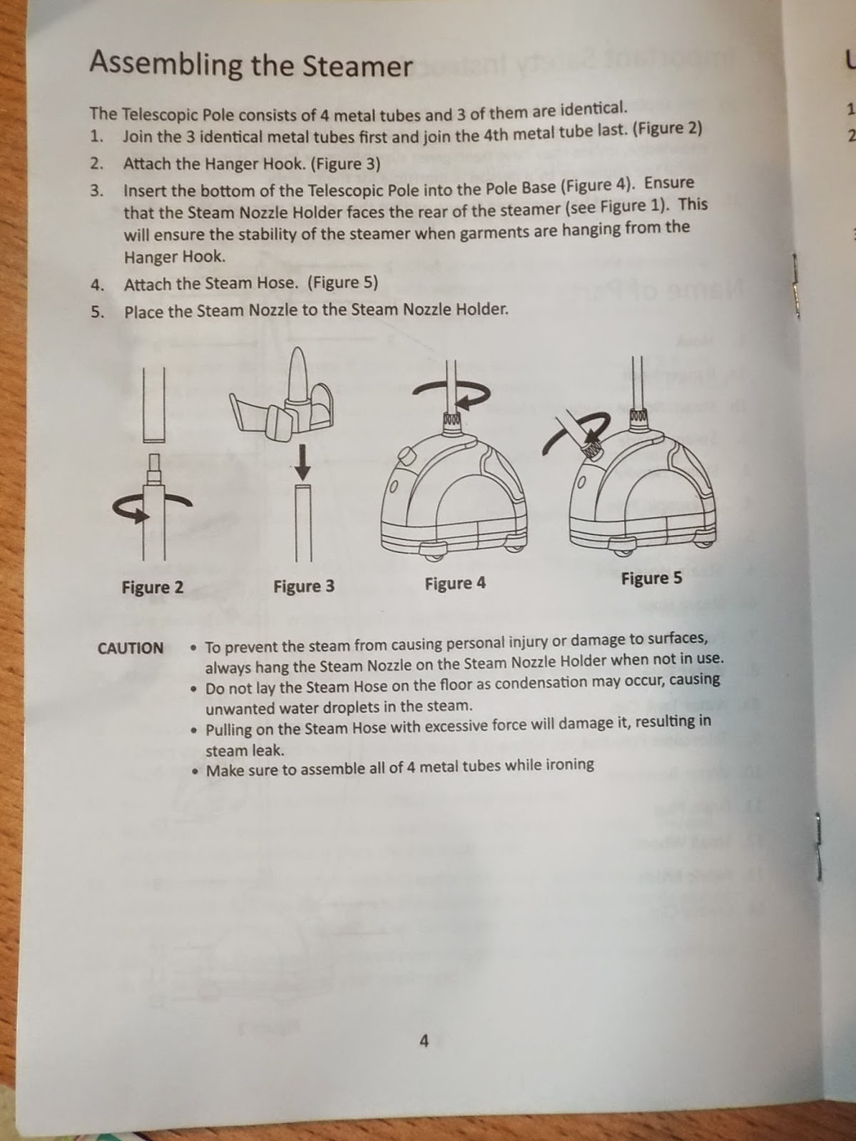 Epica Fabric Steamer Directions