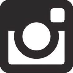 Instagram-Logo schwarz-weiß