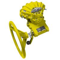 declutchable manual override gearbox