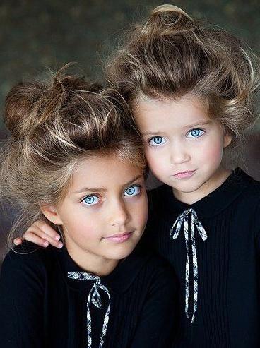peinados infantiles rodetes