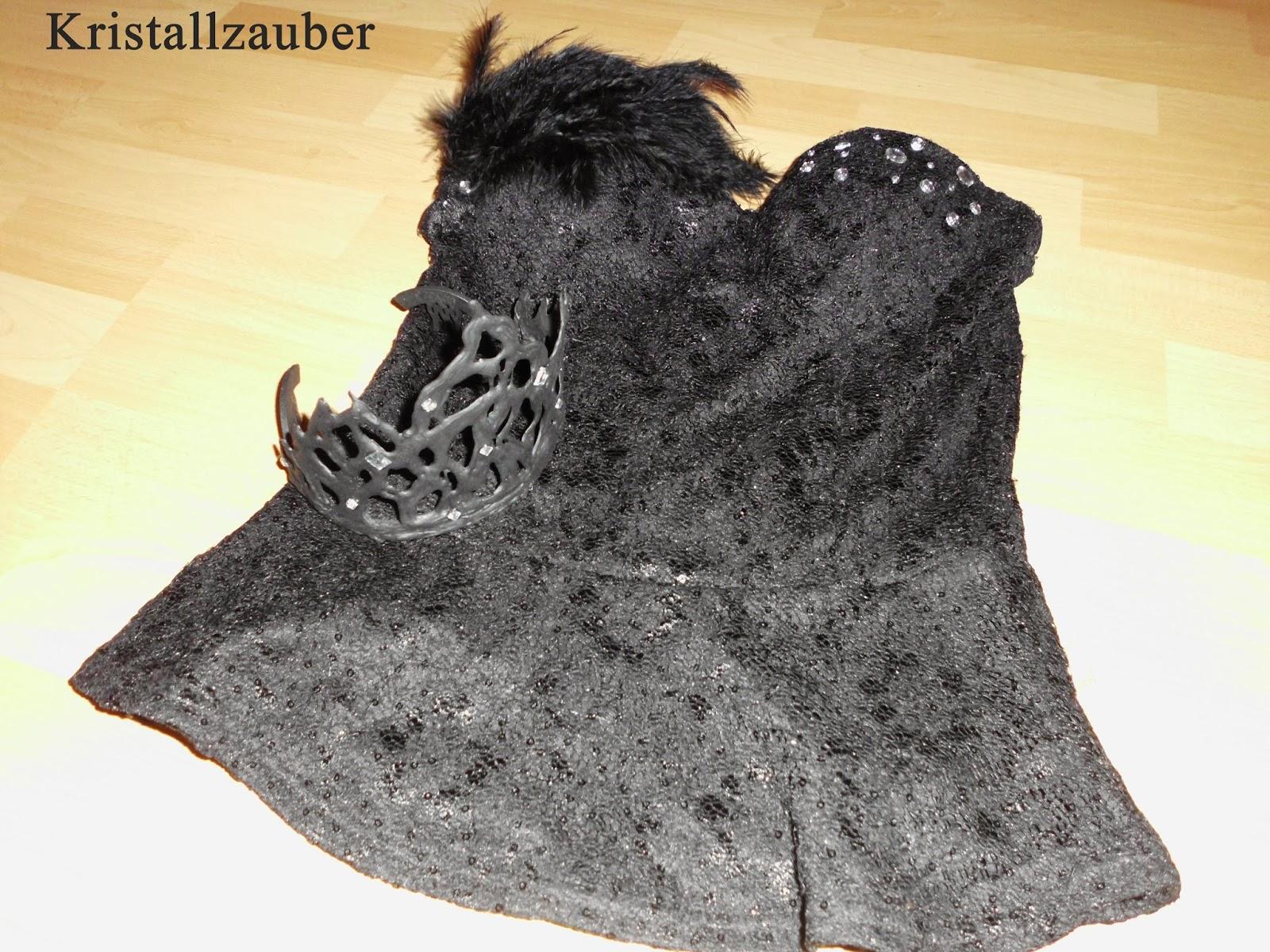 kristallzauber diy black swan kost m oberteil. Black Bedroom Furniture Sets. Home Design Ideas
