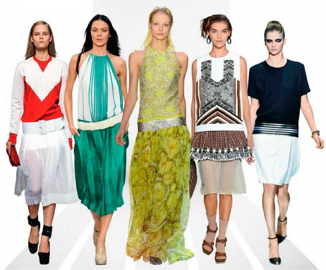 Какие модные напрвления в одежде представили дизайнеры в коллекциях этого сезона