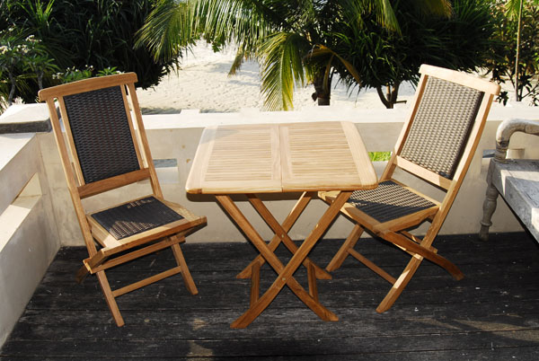 Teak Folding Chairs of TEAK 123 Best Teak Garden Furniture Manufacturer Wholesale in Indonesia
