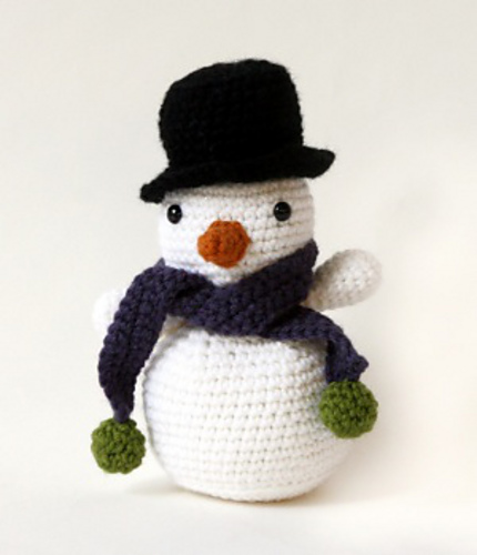 Amigurumi Snowman by Lion Brand Yarn