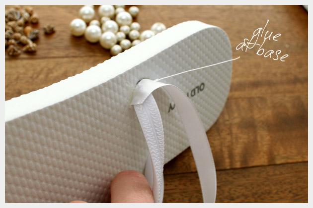 Cómo adornar sandalias flip flop en Recicla Inventa
