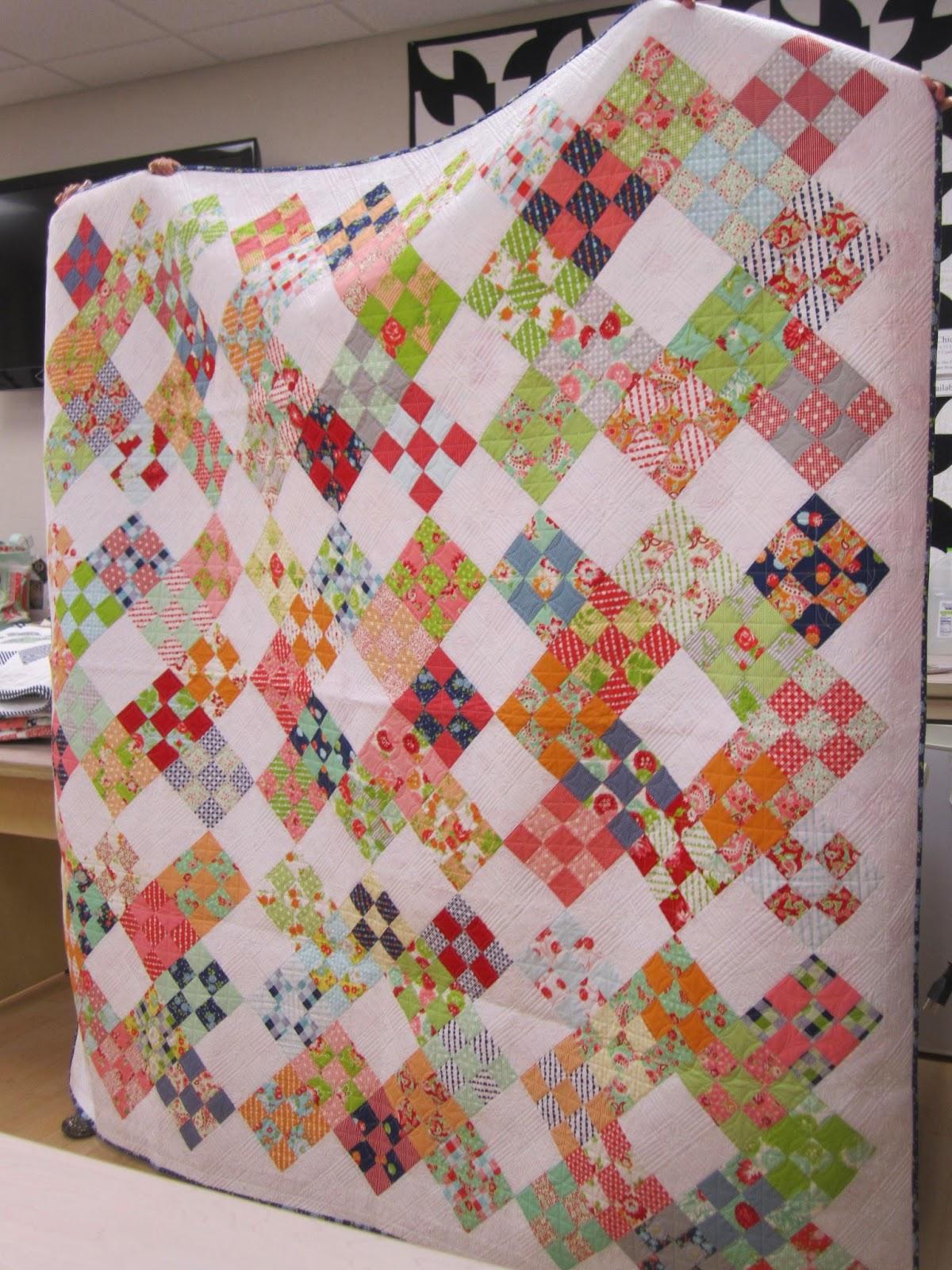 camille roskelley's niner quilt