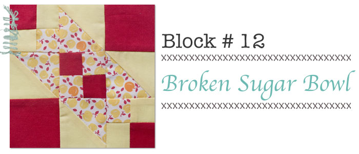 Broken Sugar Bowl quilt block