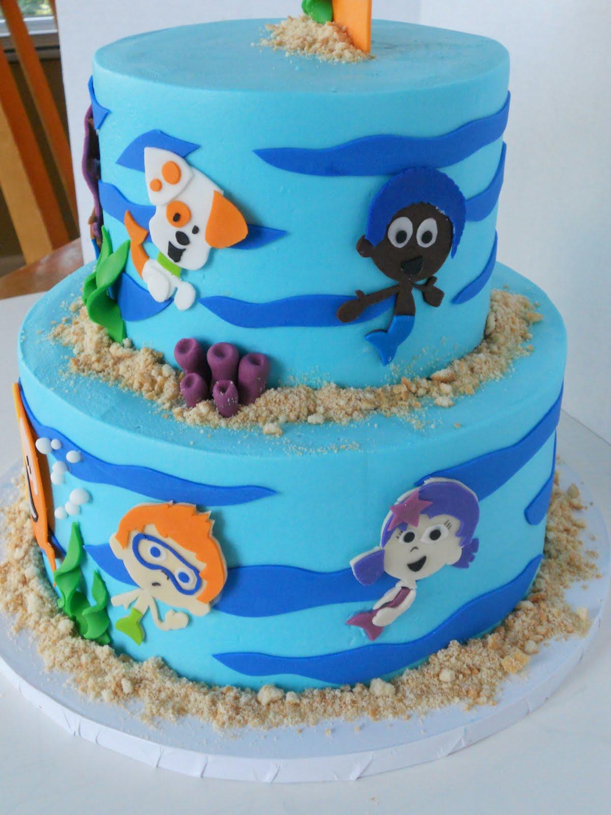 Bubble Guppies Birthday Cake Walmart