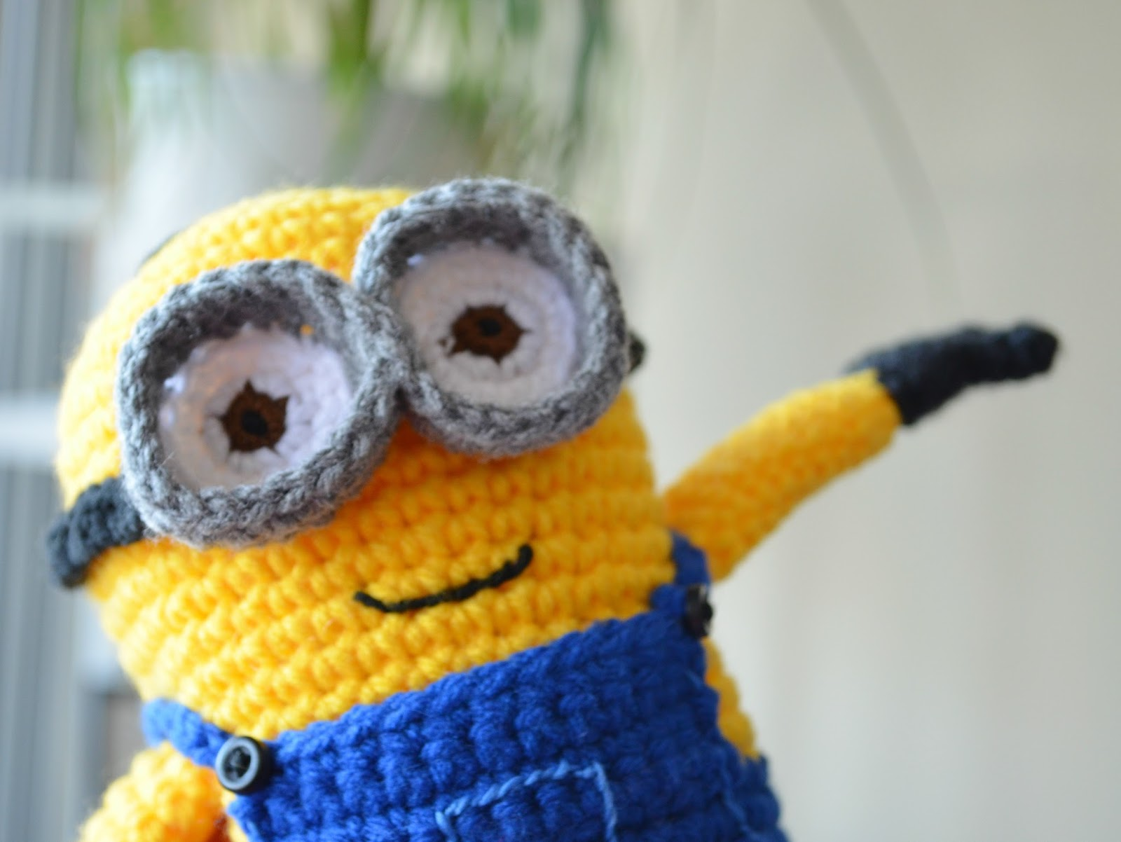 Free Crochet Pattern Minion Baby Booties : Hopeful Honey Craft, Crochet, Create: Free Minion ...