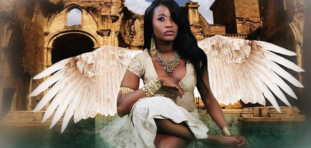 imagen de angel de raza negra sincretismo religioso caribeno