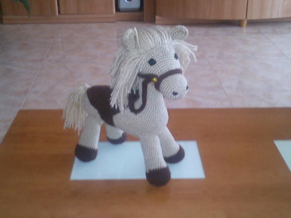Amigurumis Caballitos A Crochet : Amigurumis crochet y otras cosillas juani el caballo de angeles