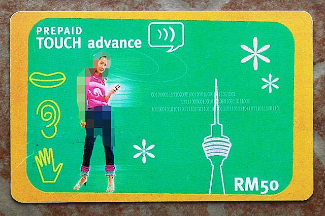 Kad telefon pra-bayar TM Touch